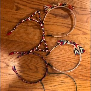 Set of 5 five girls headbands